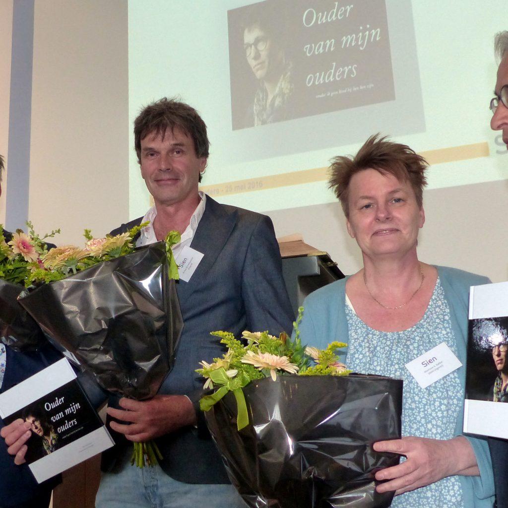 Ouder van mijn ouders: Karel, Maarten en Anneke