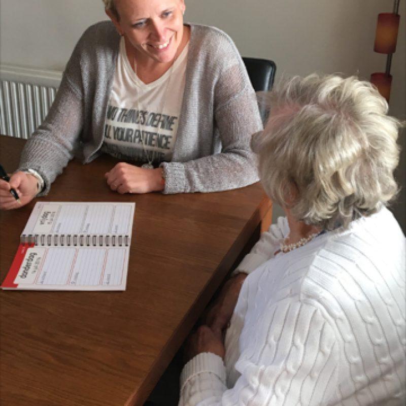 agenda training met ergotherapeut