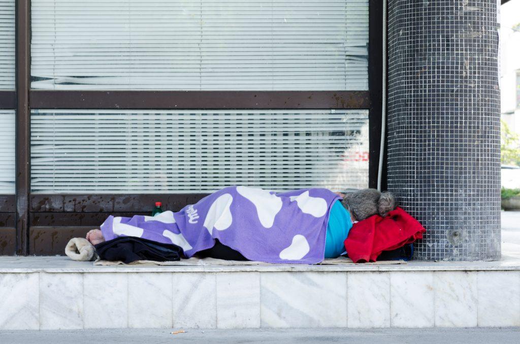 daklozen in Nederland